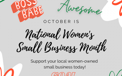 How will you celebrate Women's Small Business Month? We provide you with some helpful links to get you started.