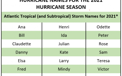 Is your name on the list? See 2021 hurricanes & how we can help you prevent a potential disaster at home.